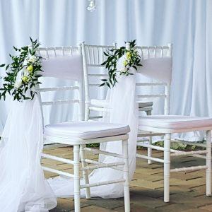 chiavari szék esküvőre