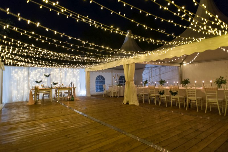 Esküvői sátor, Rendezvénysátor bérlés | RG Sátor